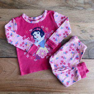 DISNEY Snow White pajama matching set 18-24m